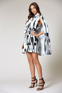 Kendall Cape Dress