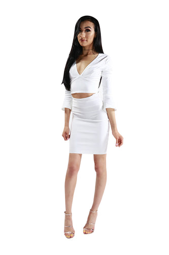 Paloma White Crop Top