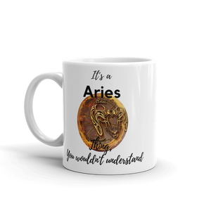 It's A Aries Thing Zodiac Mug - exclusivedoodle