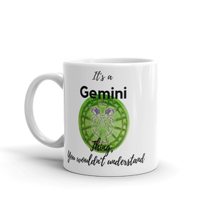 It's A Gemini Thing Zodiac Mug - exclusivedoodle