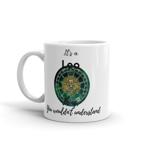 It's A Leo Thing Zodiac Mug - exclusivedoodle