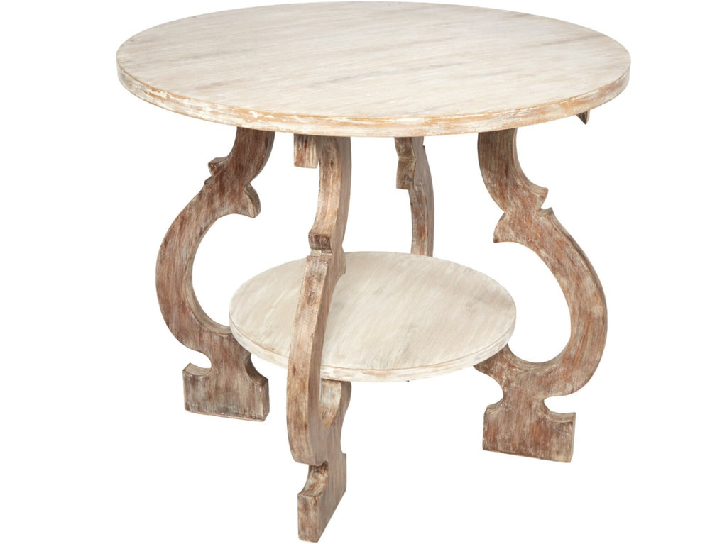 GRAYSON ROUND WOOD TABLE