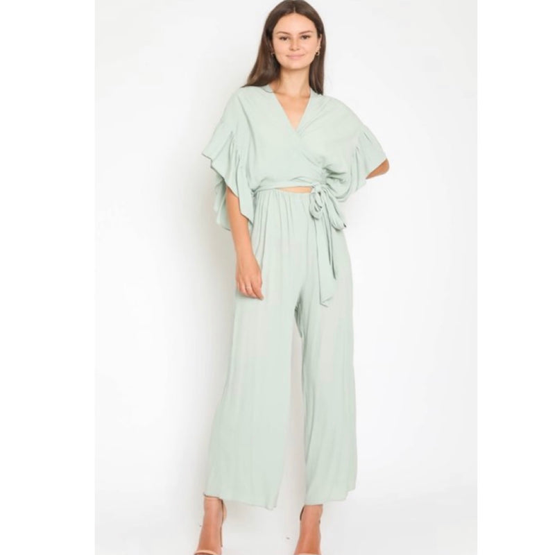 Double Mint Jumpsuit