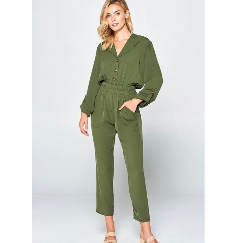 Falino Green Jumpsuit