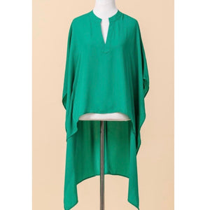 Jade high low blouse