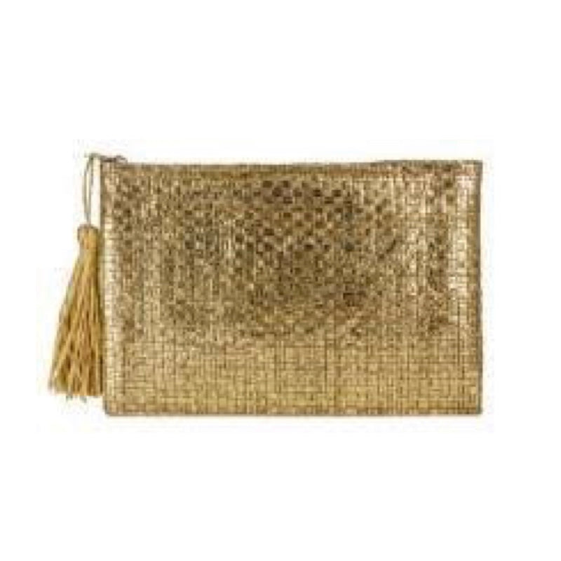 Gold foil insulated clutch