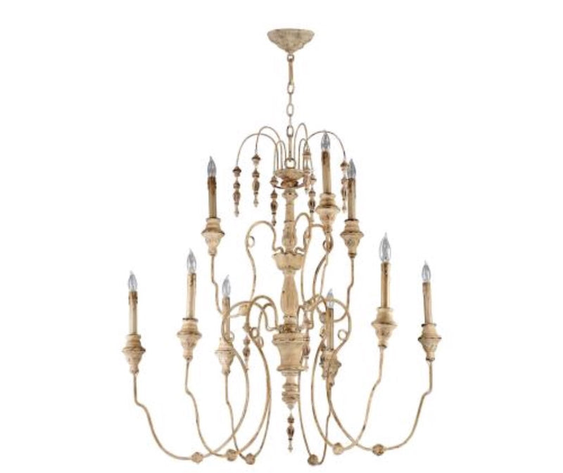 Mansion 9 light chandelier