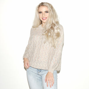 Cream Pop Sweater