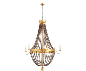 ALESSIA 6LT CHANDELIER