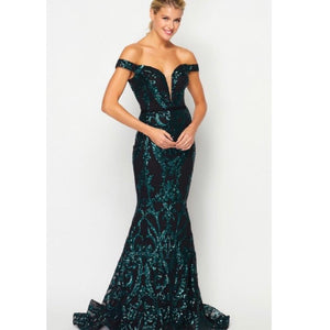 Emerald Green Formal
