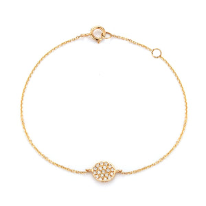 Simple Diamond Bracelet