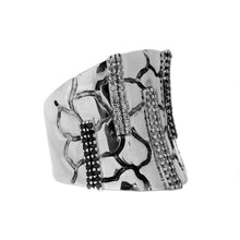 Load image into Gallery viewer, Sterling Silver Effy Diamond Ring