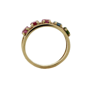 Semi-Rainbow Ring