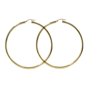 Classic Hoops in 14K Yellow Gold