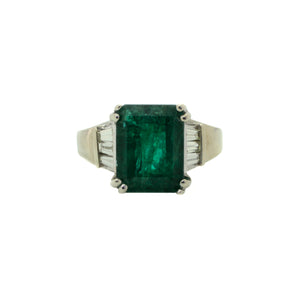 Lush Emerald Cut Ring