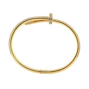 Cartier Juste un Clou bracelet in 18K Yellow Gold