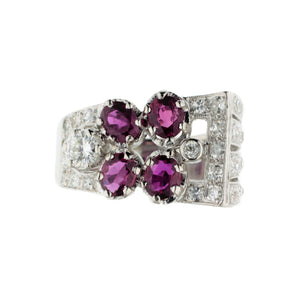 Ultra Glam Ruby Ring