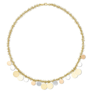 Multi-Disc Choker Necklace