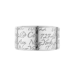 "Tiffany & Co. ""Notes"" Collection Ring"