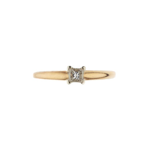 Enchanting Princess Cut Engagement Ring