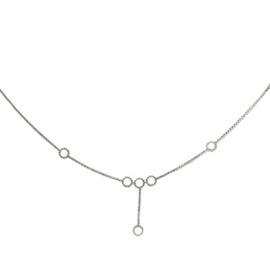 Multi-circle Diamond Necklace