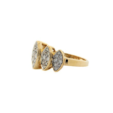 Load image into Gallery viewer, Marquise Pave Diamond Ring