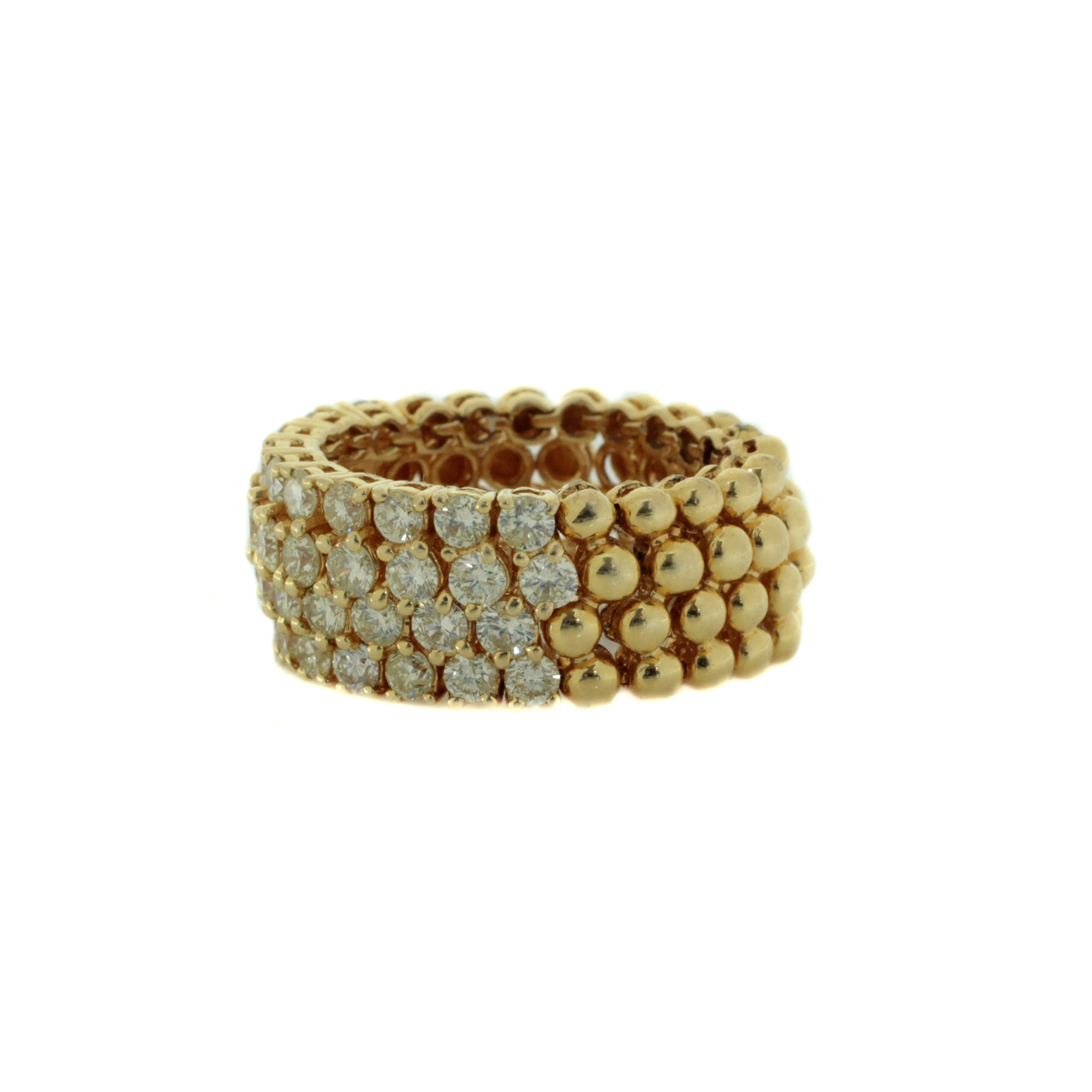 Diamond Mesh Ring