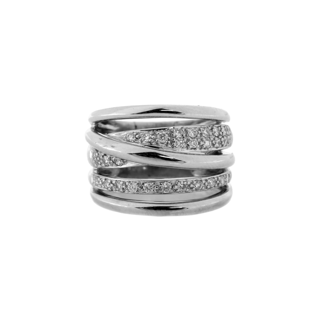 Caught in the Rapture Ring in 14K White Gold