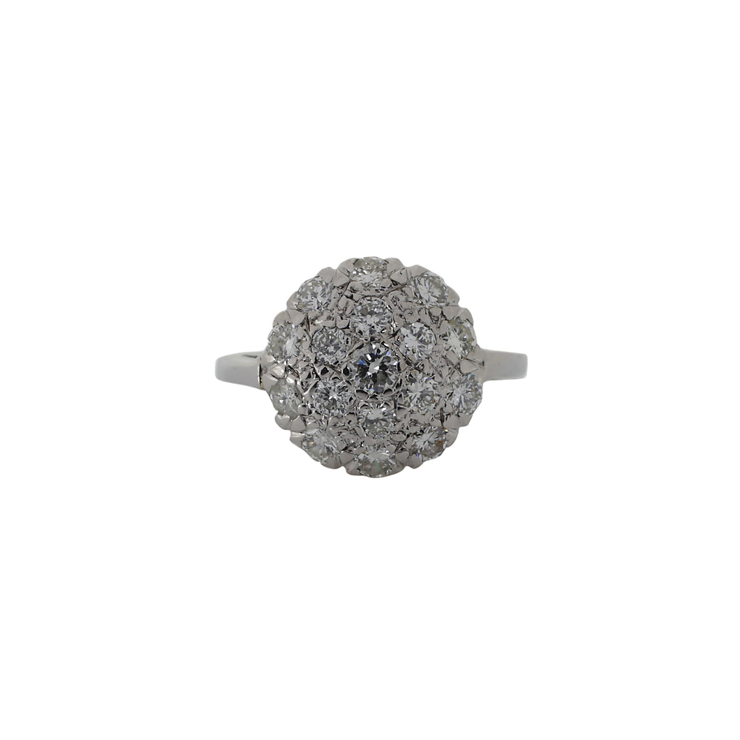 Round Center Cluster Ring