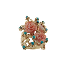 Load image into Gallery viewer, Vintage Rose Garden Ring