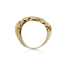 Load image into Gallery viewer, Diamond Cuban Link Ring