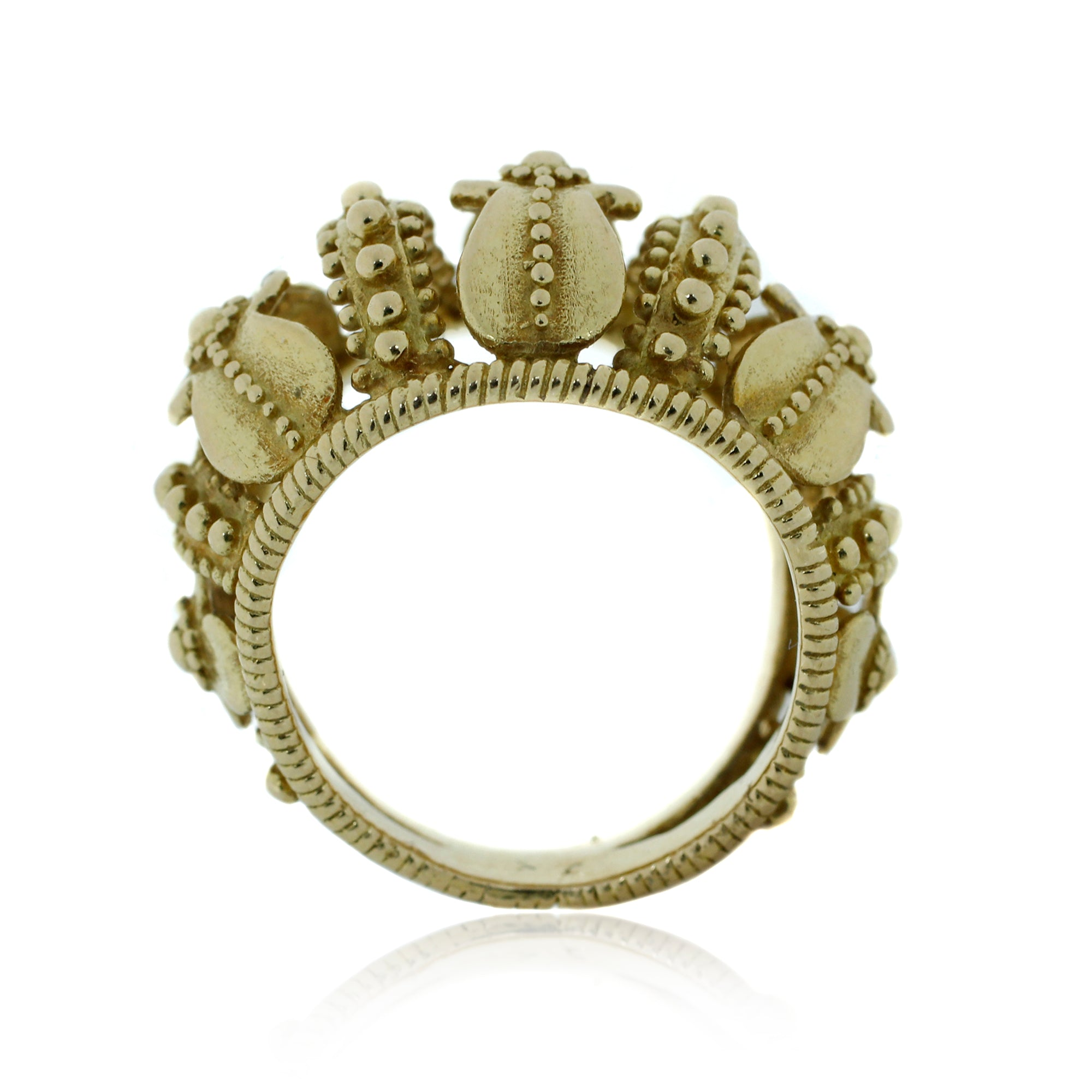 Crown Motif Ring