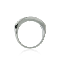 Load image into Gallery viewer, Channel Line Diamond Ring in 14K White Gold