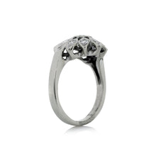 Load image into Gallery viewer, Freeform Ring in 14K White Gold
