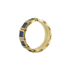 Tiffany & Co. Enamel Ring in 18K Yellow Gold