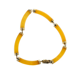 Yellow Hue Sunset Bracelet