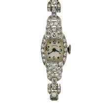 Load image into Gallery viewer, Antique Hamilton Watch in Platinum and 14K White Gold