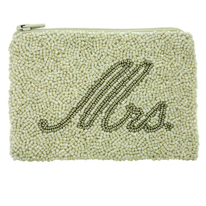 Mrs. Beaded Coin Purse