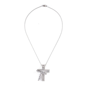 Damiani Cross Necklace