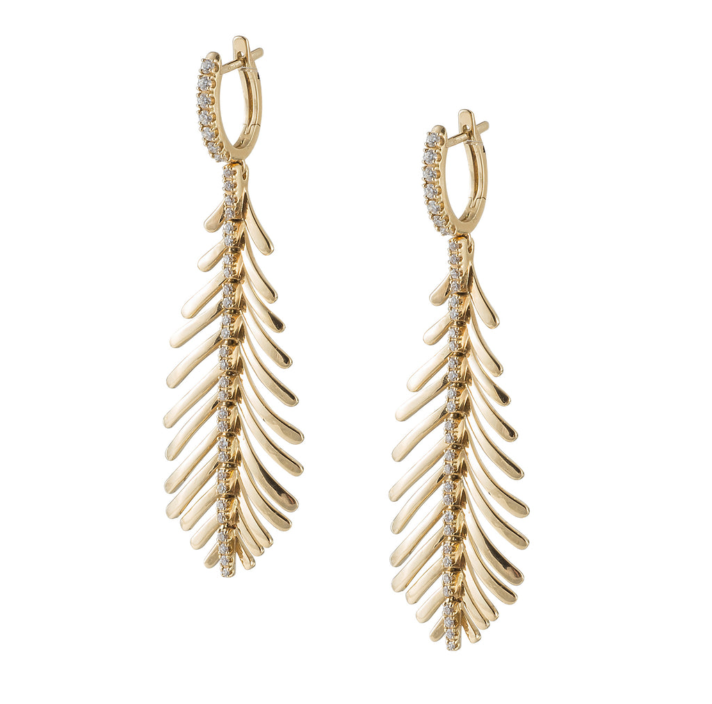 Sidney Garber Gold Earrings