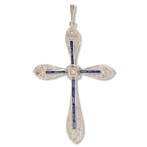 Edwardian Cross Pendant