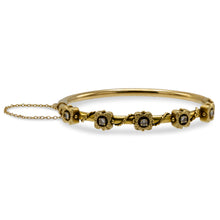 Load image into Gallery viewer, Vintage Diamond Tube Bracelet