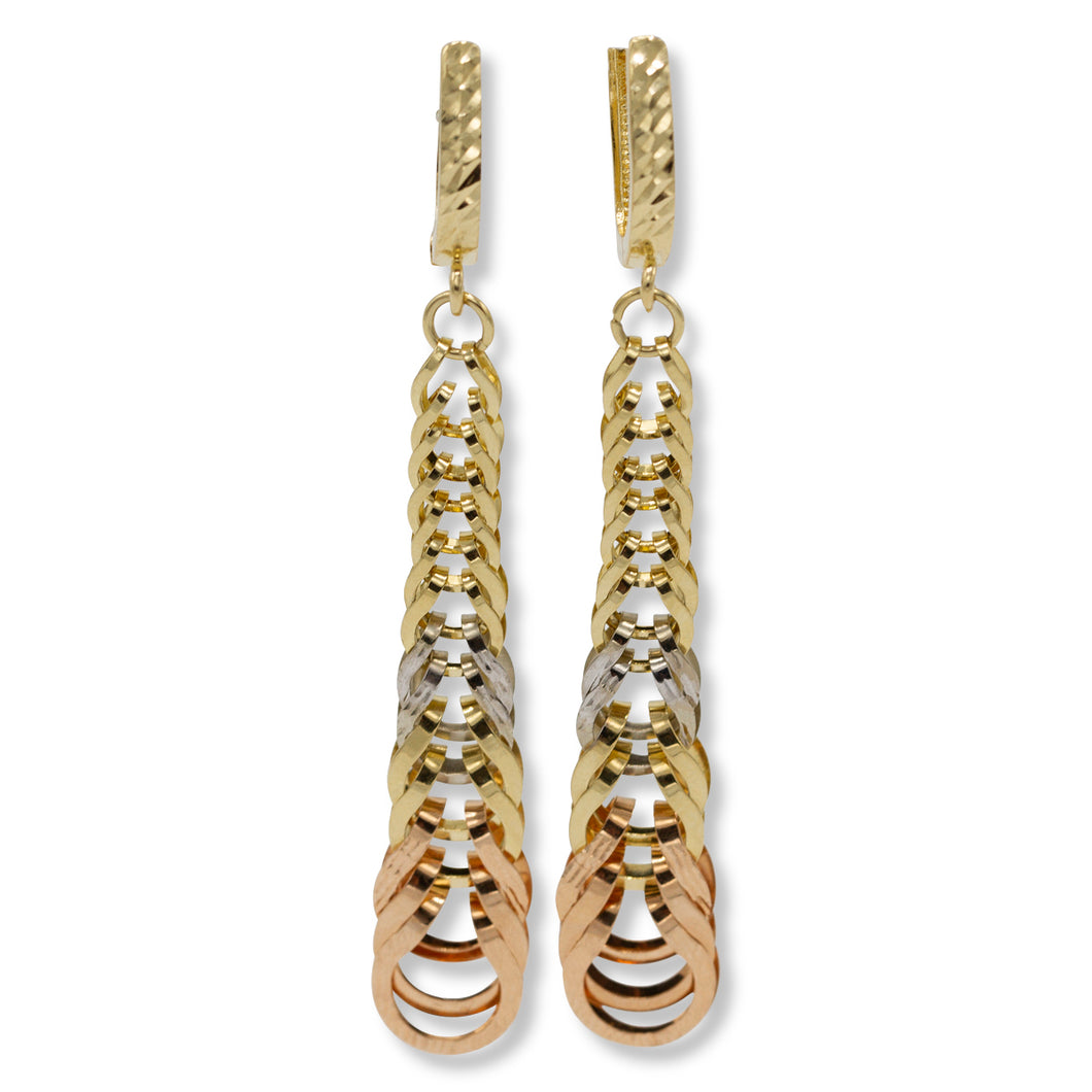 Foxtail Drop Earrings