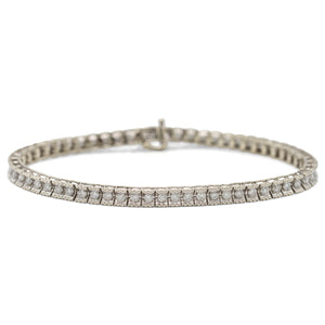 Tennis Bracelet in 14K White Gold