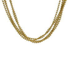 Load image into Gallery viewer, Multi-Beaded Necklace in 14K Yellow Gold