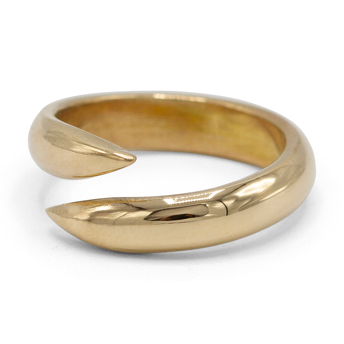 Bypass Ring in 14K Yellow Gold