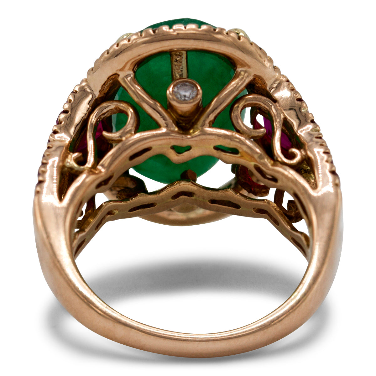 Whimsical Emerald Ring