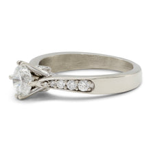 Load image into Gallery viewer, Diamond Engagement Ring in 14K White Gold