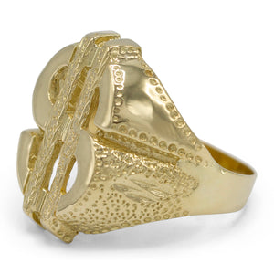 Men's Money Sign Ring