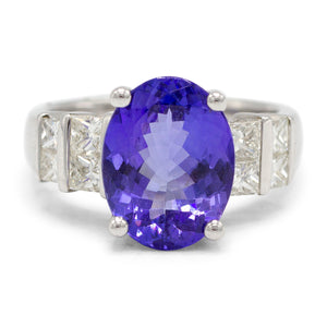 Royal Tanzanite Ring